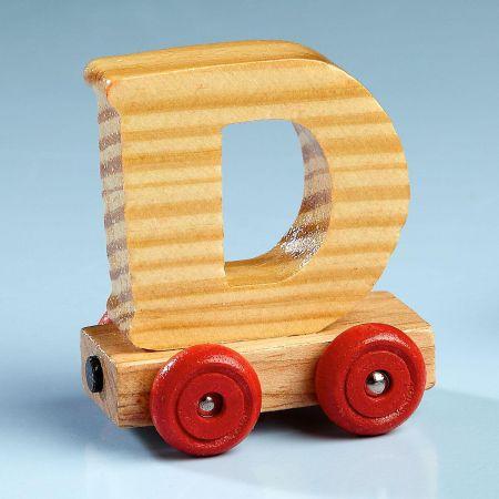 Letter Car - D