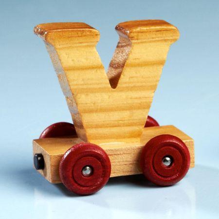 Letter Car - V
