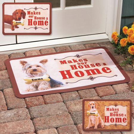 ...Makes Our House A Home Dog Doormat