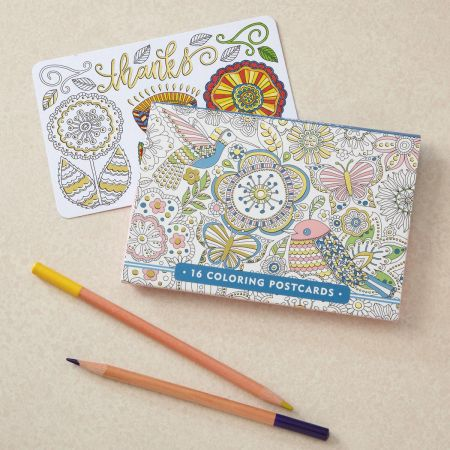 Coloring Postcards