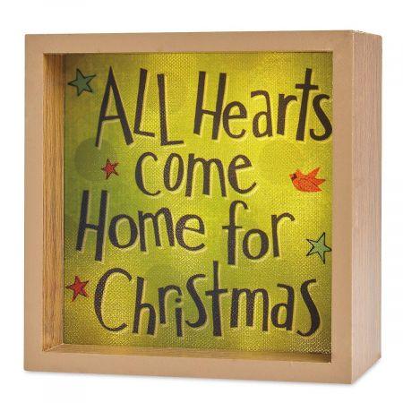 All Hearts Light Box