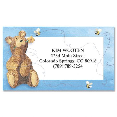 Bear Lodge Buddy Calling Card