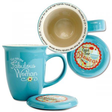 Fabulous Woman Covered Mug
