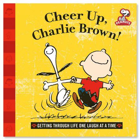 Peanuts® Book - Cheer Up, charlie Brown!