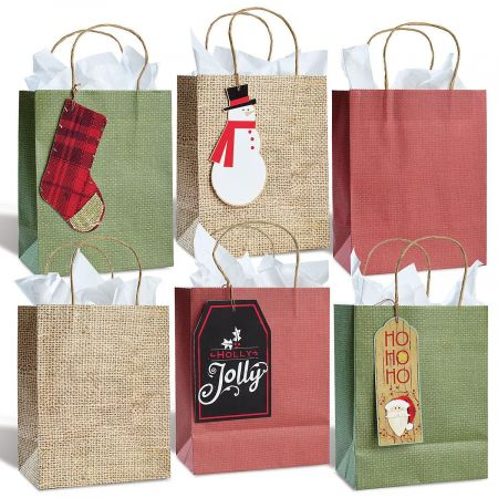 Christmas Gift Bags by Current Catalog