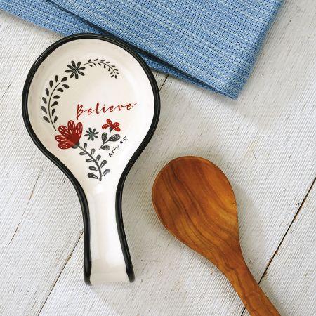 Scribble's Believe Spoon Rest