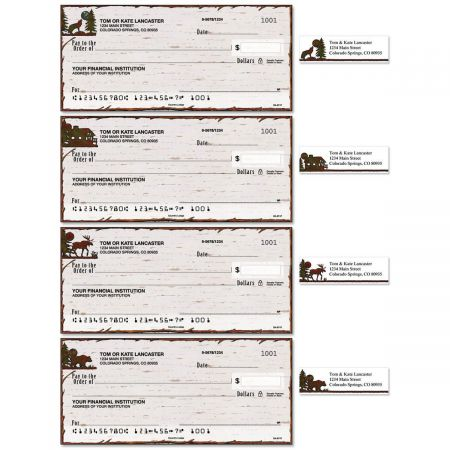 Country Lodge Duplicate Checks With Matching Address Labels