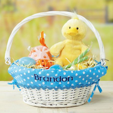 Easter Basket with Liners