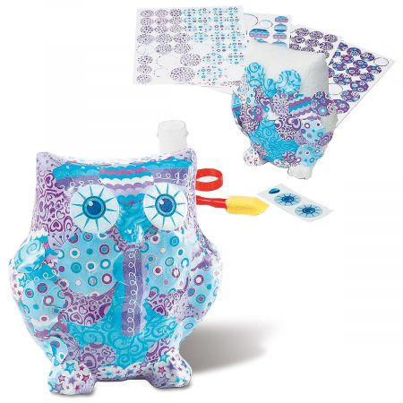 decoupage owl kit from melissa and doug current catalog
