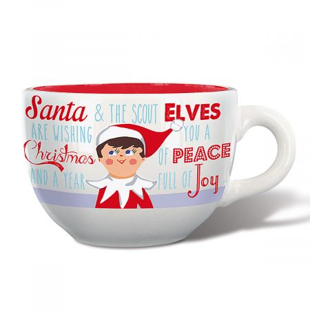 Elf on the Shelf Soup Mug