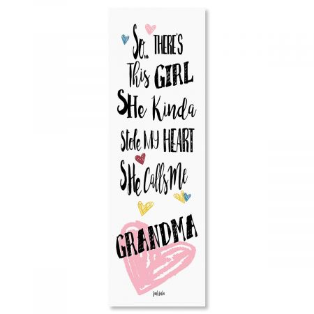 So There's This Girl Plaque Grandma