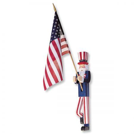 Uncle Sam Flag Holder