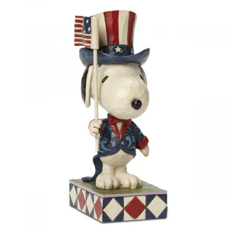 Patriotic Snoopy™ by Jim Shore