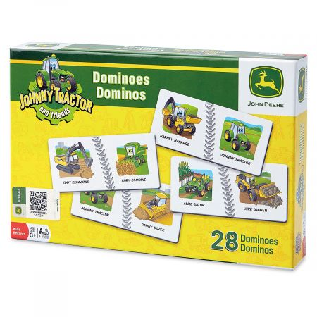 Tractor Dominoes Game