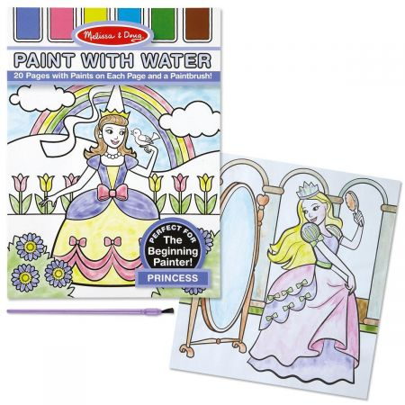 Princess Paint with Water Book by Melissa & Doug®