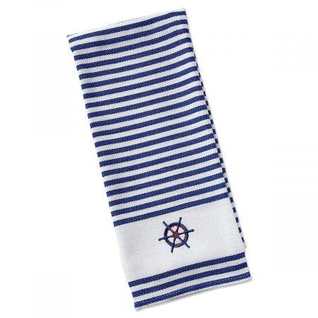 Captain's Wheel Kitchen Towel