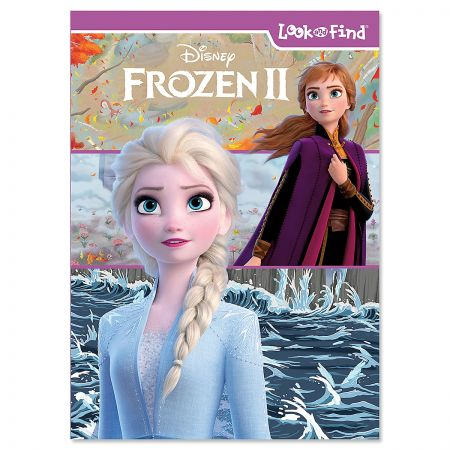 Disney Frozen 2 Look and Find Book