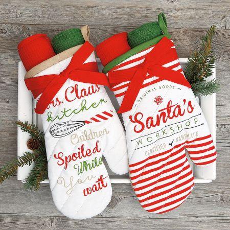 Christmas Oven Mitt Gift Set