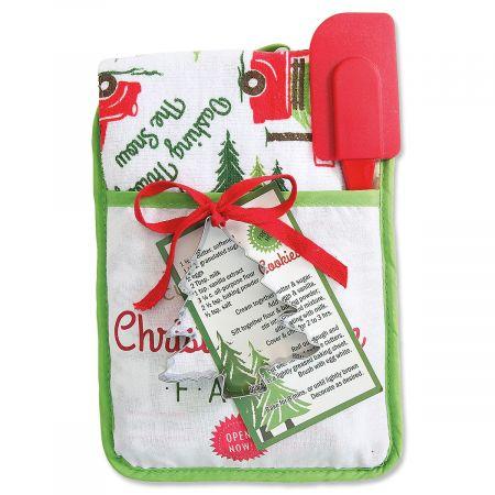 Christmas Pocket Mitt Gift Set