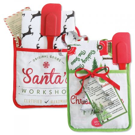 Christmas Pocket Mitt Set