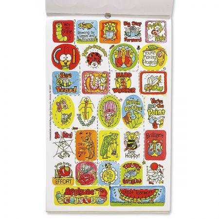 Bugs & Phrases Sticker Book