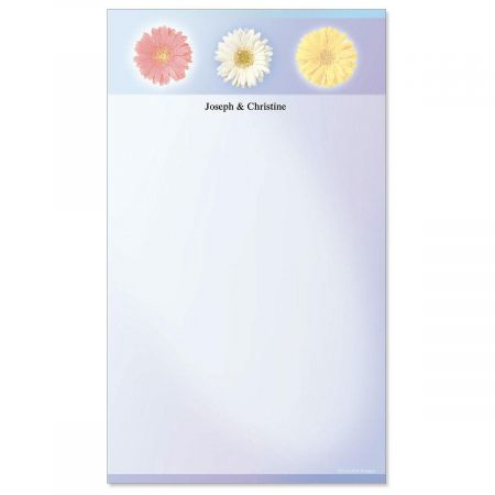 Illuminated Petals Custom Memo Pads