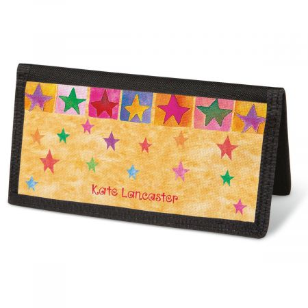 Stars On Parade  Checkbook Cover - Personalized