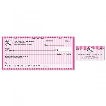 Parisian Initial Single Checks With Matching Address Labels