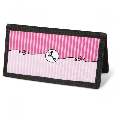 Parisian Initial  Checkbook Covers