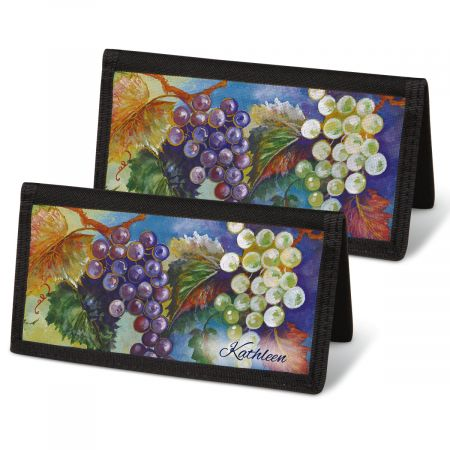 Bacchus  Checkbook Covers