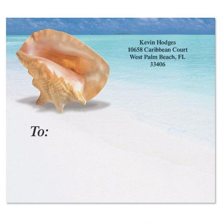 Calm Seas Mailing Package Label