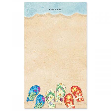 Baja Flip-Flops Custom Memo Pads