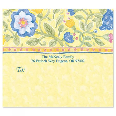 Tuscan Sun Mailing Package Label