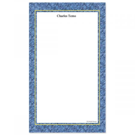 Granite & Gold Custom Memo Pads