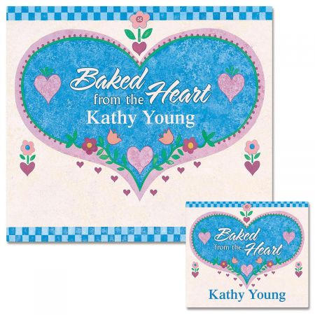 Baked from the Heart Canning Labels