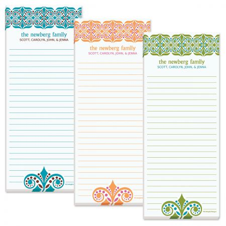 Improv Shopping List Pads  (3 Colors)