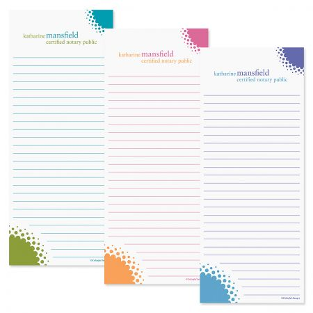 Sweet Spot Lined Memo Pads  (3 Colors)