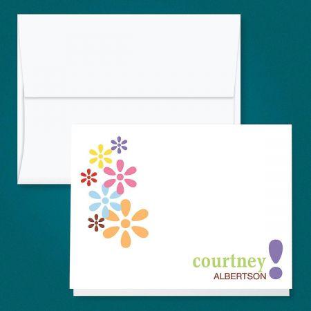 Hopscotch Custom Note Cards