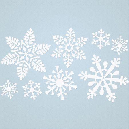 Snowflakes Vinyl Wall Art