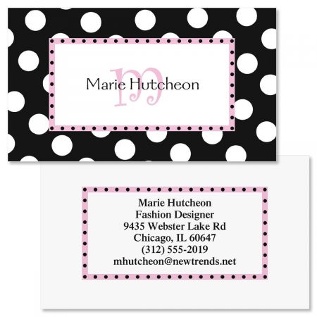 Leeza Double-Sided Business Card