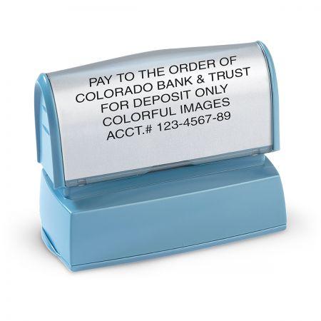 Deposit Pre-Inking Address Stamper
