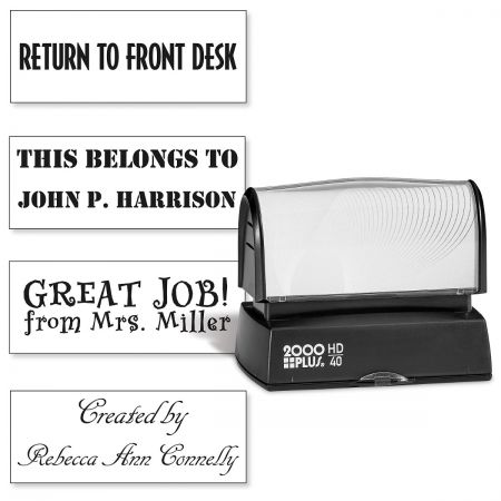 Create Your Own Pre-Inking Address Stamp