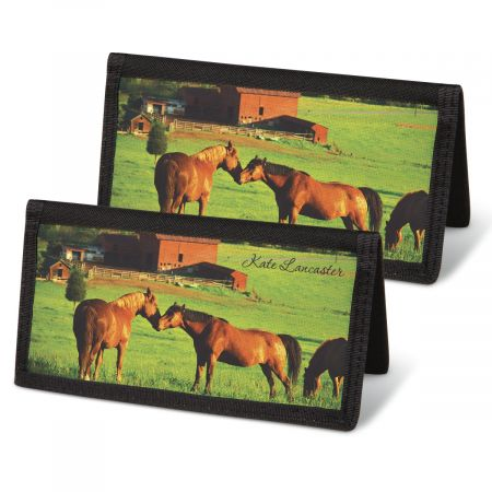 Horse Enthusiast  Checkbook Covers