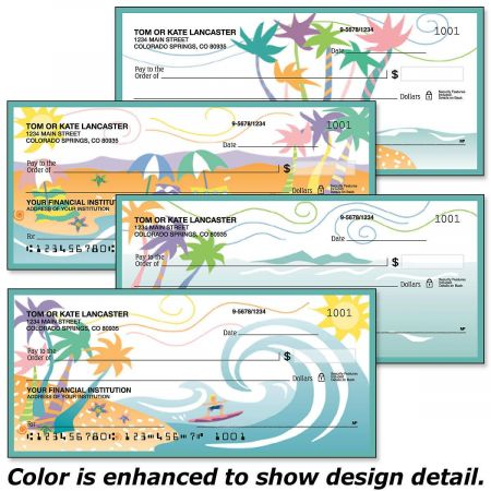 Tropical Moods Single Checks