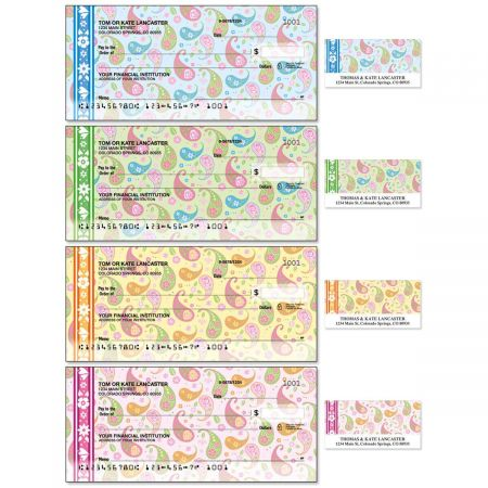 Pretty Posies Duplicate Checks With Matching Address Labels