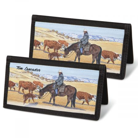 Cowboy  Checkbook Covers