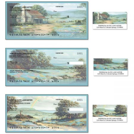 Serenity II Single Checks With Matching Address Labels