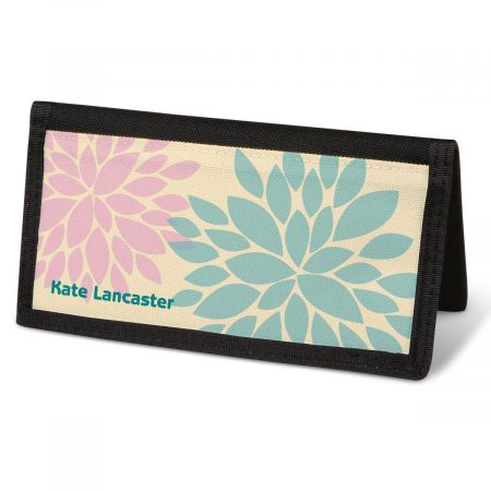 Bella Silhouette  Checkbook Cover - Personalized