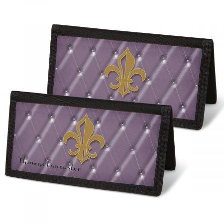 Bronze Fleur De Lis  Checkbook Covers
