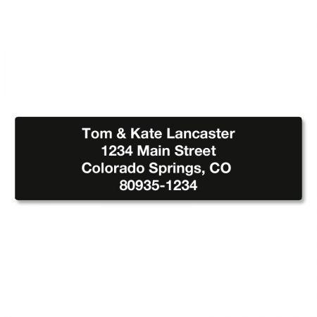 Solid Color Designer Rolled Address Labels - (Roll of 250)
